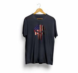 03538874b8d32 American Flag Punisher Skull Vintage Usa Cool Men   Women T-Shirt T Shirt  Tees Funny free shipping Tshirt top