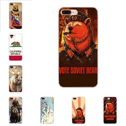 cell phones s3 UK - Custom Soft TPU Cell Phone Case Cover Bear Russia Mobile For Samsung Galaxy Note 5 8 9 S3 S4 S5 S6 S7 S8 S9 S10 5G mini Edge Plus Lite