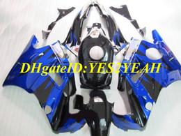 Honda F2 1991 Australia - Motorcycle Fairing kit for Honda CBR600F2 91 92 93 94 CBR600 F2 1991 1992 1994 ABS Top blue black Fairings set+Gifts HG14