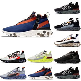ghost running shoes NZ - Hot Ghost Aqua React LW WR MID ISPA men women running shoes Wolf Grey Platinum Volt Summit White Outdoor mens trainer sports sneakers