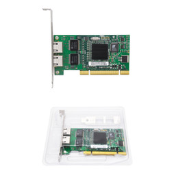 $enCountryForm.capitalKeyWord UK - INTEL 82546 Dual Port Gigabit Server Adapter 8492MT PCI 32bit 1000M Network Card