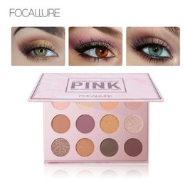 $enCountryForm.capitalKeyWord NZ - FOCALLURE Brand 12 Colors Matte Shimmer Eye Shadow Shine Make Up Professional Complete Palette Makeup Eyeshadow High Quality