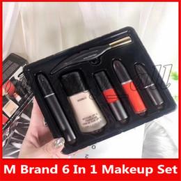 $enCountryForm.capitalKeyWord UK - Famous M Brand Make up Eyeliner Mascara Liquid Foundation Lipgloss Lipstick Lipstick Sugar 6 in 1 Cosmetics With Nice price