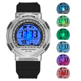 Discount resistance electronics - PA Resistance When Hot Selling MEN'S Watch Multi-functional Waterproof Colorful Night Light Students Couples Sports