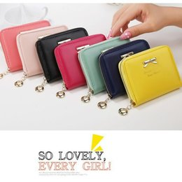 $enCountryForm.capitalKeyWord Australia - Women's Fashion Bowknot Mini Wallets Coin Purses 2019 New Ladies Zipper Small Wallets Pouch Handbags