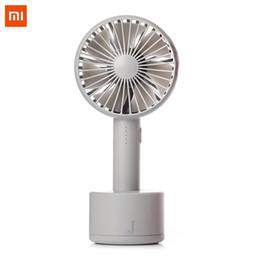 $enCountryForm.capitalKeyWord Australia - Xiaomi Youpin 2 In 1 Mini Handheld & Oscillating 120 Degree Rotation Desktop USB Fan Multiple Wind Speed Cooling Fan with Base