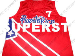 wholesale Carlos Arroyo  7 Puerto Rico New Basketball Jersey Red Stitched  Custom any number name MEN WOMEN YOUTH BASKETBALL JERSEYS e480c87d3