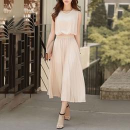$enCountryForm.capitalKeyWord Australia - Young17 Women Elegant Dress Summer Chiffon Plain New Party Office Summer Vestido 2019 Fashion Long Dress Clothes Midi Dress Y19053001