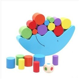 $enCountryForm.capitalKeyWord Australia - Building Blocks Kits Baby Early Learning Toy Suit Colorful Wooden Toys Moon Balancing Intellectual Challenge Games 7 7hh O1