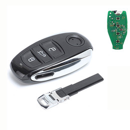 Volkswagen Card UK - Keyless Entry Smart Card 3 Button Remote Car Key Fob 433MHZ ID46 Chip for VW Touareg 2011-2014