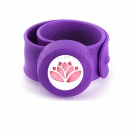 $enCountryForm.capitalKeyWord NZ - lotus flower Flexible Mosquito Repellent Charm Bracelet Bangles Essential Oil Diffuser Bracelets Women Perfume Silicone Wristband Kids