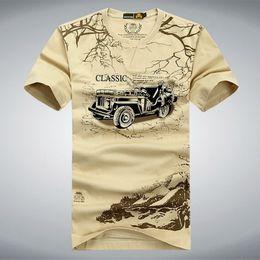 Elastic Army Shirt Australia - Elastic Cotton T Shirt Men Summer Afs Jeep Brand Clothing Casual 3d T-shirts Army Tactical T-shirt Military Style Tshirt,uma012 J190528