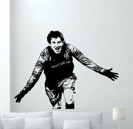 $enCountryForm.capitalKeyWord Australia - Lionel Messi Decal Famous People Wall Sticker Football Football Player Wall Art Decor Messi Vinyl Art Mural