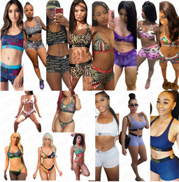 Wholesale hot sexy halter push up bikinis for sale – plus size 16 colors women swimsuit halter push up top bra shorts briefs two piece bikini set sexy swimwear hot bathing swimming suit D7202