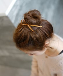 Diamonds Hair China Australia - Korean Hairpin Adult All is Acted the role of Fair Maiden of Elegant Hair to Pure and Fresh Hairpin Top Clip Spring Ribbon