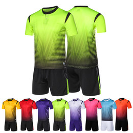 $enCountryForm.capitalKeyWord UK - Mens Soccer Jerseys Set Survetement Football Kit Sports Clothing Men Futbol Shirts Training Uniforms De Foot Shorts Custom Print