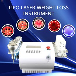 personal cavitation machine UK - 2020 newest Personal cavitation machine vacuum lipo laser beauty equipment infrared Bipolar and Tripolar rf radio frequency machine on sale