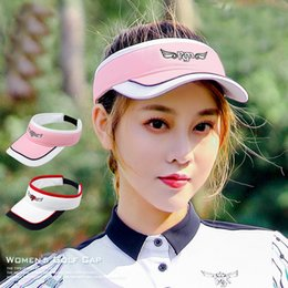 golf tennis sun visors Australia - New Design Women Adjustable Breathable Caps with Sun Visor Outdoor Sports Cycling Running Hiking Traveling Tennis Golf Hat