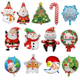 $enCountryForm.capitalKeyWord NZ - Christmas Foil Air Ballons Santa Claus Snowman snowflake pallocini Kids Xmas Tree toys Classic gadgets Boy Girls Children Party Decoration