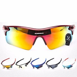 China ROBESBON Cycling Sun Glasses UV400 Outdoor Sports Bicycle Glasses Bike Sunglasses Unisex Windproof Eyewear Goggles #46898 cheap robesbon sunglasses suppliers