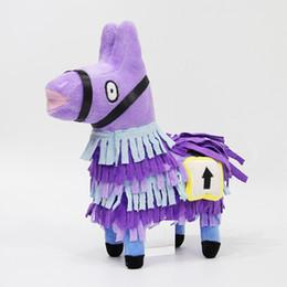 Free plush horse online shopping - 2018 Hottest cm Fortnite Plush Doll Troll Stash Llama Figure Soft Stuffed Horse Animal Cartoon Toys Action Figure Toys Kids Gift DHL Free