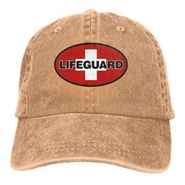 9ea2150acb839 Designer Mens Hat UK - 2019 New Designer Baseball CapsPrint Hat High  quality Lifeguard Mens Cotton