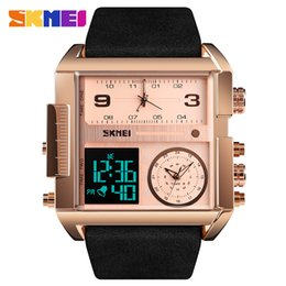 Wholesale SKMEI Men Sports Watches Top Brand Luxury Dual Time Men s Watch Fashion casual Digital Wristwatches Clock relogio masculino
