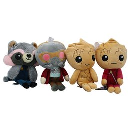 New Marvel Toys NZ - Guardians of the galaxy 2 groot plush toy rocket raccoon star Sir Marvel movie characters