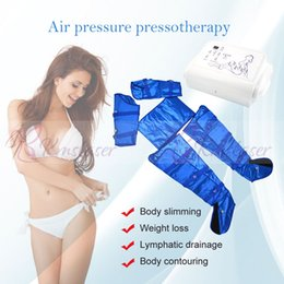 Air Pressure Slimming Suit Australia - Lymphatic Detoxification Slimming Suit With Air Pressure Endocrine Regulation Eliminate Constipation Massage Body Anti-aging Beauty Machine