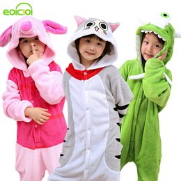 4103e4ef6645 White Rabbit Cosplay Australia - 30 New Kids Boys Girls Pajamas Set Animal  Pegasus Pig Rabbit