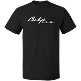Company Cars Australia - Bel Air Classic Car Company Logo T-shirt S-3XL 100% Cotton Free Shipping Brand T Shirt Men 2018 Fashion