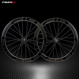 $enCountryForm.capitalKeyWord Australia - FID Carbon Disc 700C 50mm Clincher Carbon Wheelset Wheels Road Cyclocross Bike Bicycle Disc brake Hubs Wheels