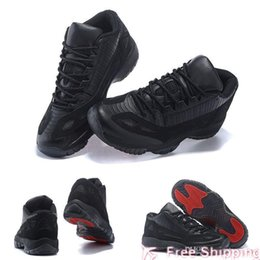 referee basketball Australia - Fashion XI Quality 11 High Space Jams Referee Black True Red Men s Basketball Sport Footwear Sneaker Trainers Shoes