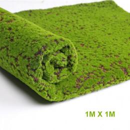 $enCountryForm.capitalKeyWord Australia - Artificial Moss Fake Decorative Moss Grass For Christmas Home Shop Decor Green