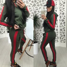 $enCountryForm.capitalKeyWord Australia - Womens sports suit fashion multicolor clothing leisure time suit sportswear