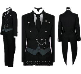 Black Deacon - Sebastian Cosplay Tuxedo / Anime / Dress