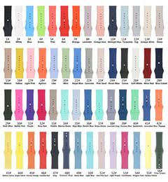 56Colors morbido silicone cinturino cinturino per orologio Series 1 2 3 4 5 38MM 42MM 40MM 44MM VS Fitbit in Offerta