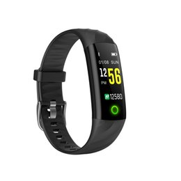 Chinese  S5 Heart Rate Smart Bracelet Fitness Bracelet IP68 Waterproof Blood Pressure Oxygen Monitor Watch Color Screen Activity Tracker Smart Band manufacturers