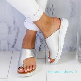 european american fashion shoes Canada - Wholesale Slippers Summer Fashion Trend Most Popular in European and American New Design Style Slipper for Womens Flip Flops Flat Shoes t10