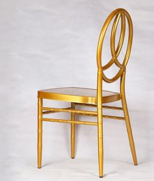 Wedding Chairs For Sale Wholesale Australia - Gold color adult & kids tiffany chairs hotel wedding chair for sale