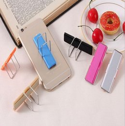 Evrensel Parmak Telefon Kavrama Kickstand Sling Elastik Band Kayışı Telefon Sahipleri Cep Telefonları Tablet H144 Için Standı Ile Standı