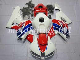 hrc fairings Australia - 4 Free Gifts Injection Mold New ABS Motorcycle Fairings Kits Fit for HONDA CBR600RR 2013 2014 2015 2016 2017 CBR600 F5 red blue HRC