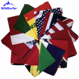 $enCountryForm.capitalKeyWord Australia - WildSurfer Flag Bandana Running Scarf Cycling Balaclava Cotton Headwear Headband Adult Fishing Mask Hiking Gaiter Scarves FJ04