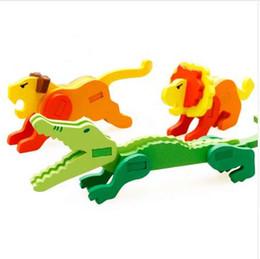 $enCountryForm.capitalKeyWord UK - UTOYSLAND DIY 3D Puzzle Wooden Model Assembled Animal Brain Teaser Learning Educational Games Toys for Children Jigsaw Kids Toys