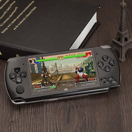 Real Camera Australia - handled Game Console 4.3 inch screen mp4 player MP5 game player real 8GB support for psp game,camera,video,e-book