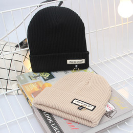 $enCountryForm.capitalKeyWord Australia - Fashion Couples Matching Hats Knit Womens Beanie Ladies Winter Ears Head Warmer Slouchy Chemo Hats Fancy Snow Cap Sport Skull Caps Fancy Hat