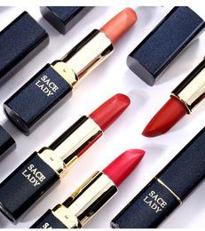 $enCountryForm.capitalKeyWord NZ - Single Matte Lipstick Rouge Matte Soft Creamy Moisturizing Lipstick Makeup Long Lasting Waterproof Velvet Smooth Beauty Making Up No Fade