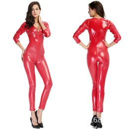 Latex Woman Costume Australia - Leather Money Locomotive Auto Salon Girls Clothes Nightclub Woman Steel Pipe Heat Dance Costume Ds Clothes Exit Game Clothes latex catsuit