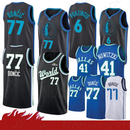 cd48b4916c0e Dirk nowitzki online shopping - 2019 New Kristaps Porzingis Dallas Jersey  Mavericks Luka Doncic The city