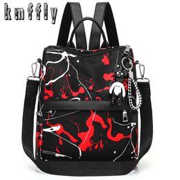 f96d12fc09af graffiti backpacks 2019 - Fashion Anti-theft Oxford Female Backpack New Graffiti  Backpacks For Women